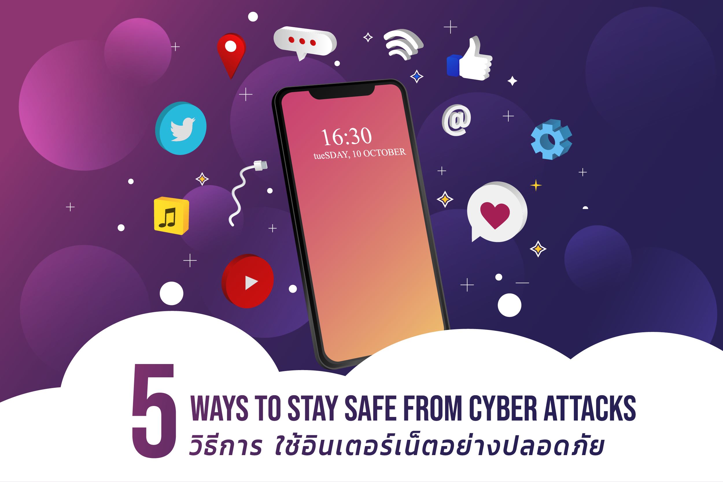 5 Ways to Stay Safe from Cyber Attacks